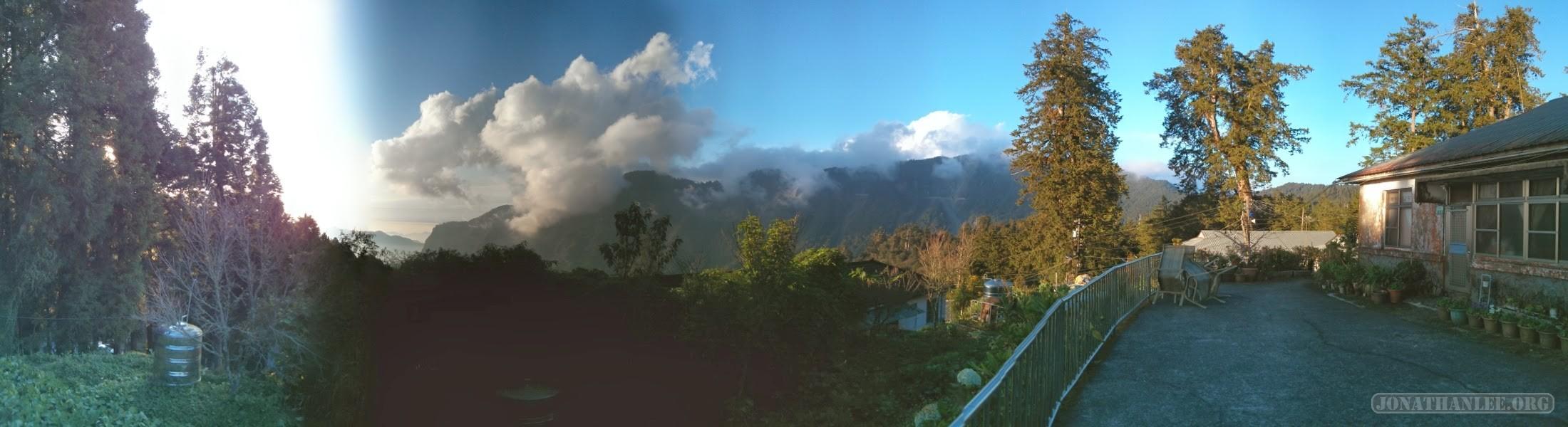 Alishan - panorama scenery 2