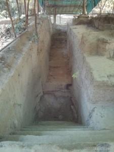 Angkor Archaeological Park - Ta Keo dig