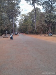 Angkor Archaeological Park - road