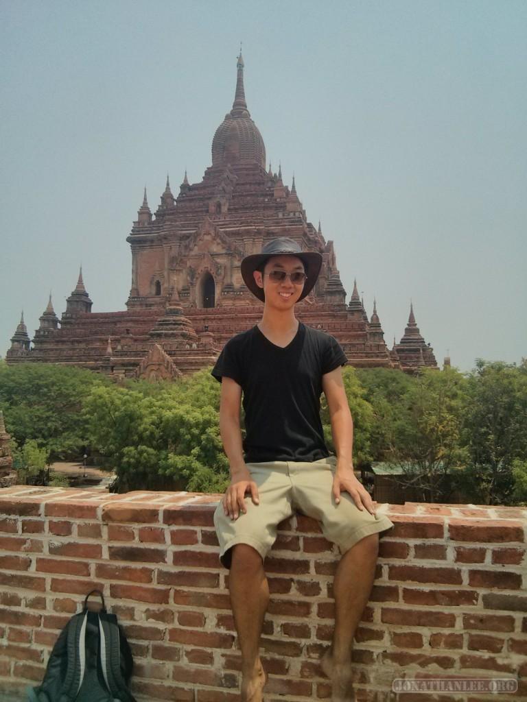 Bagan - Htilominlo portrait