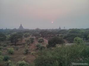 Bagan - Shwegugyi sunset 1
