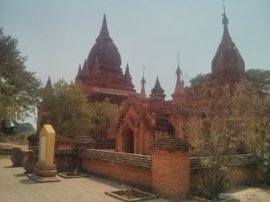Bagan - unnamed temple 6