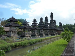 Traveling around Bali - Mengwi plains temple 1