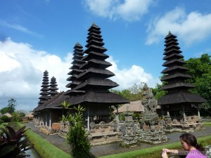 Traveling around Bali - Mengwi plains temple 2