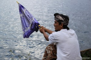 Traveling around Bali - guide fishing