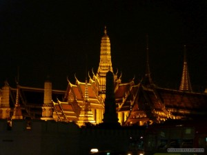 Bangkok - Grand Palace at Night