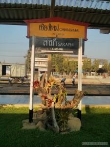 Bangkok to Chiangmai - arrival in Chiang Mai