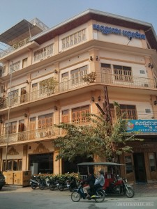 Battambang - city architecture