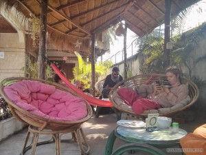 Battambang - here be dragons hostel
