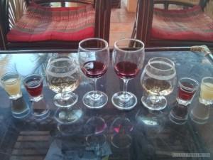 Battambang - wine tasting wine