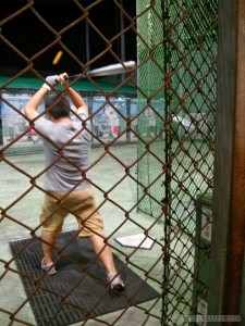 Batting cage - batting 1