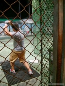 Batting cage - batting 2