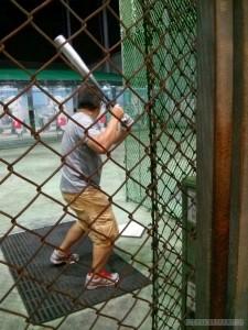 Batting cage - batting 3