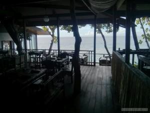Bohol - bee farm dining room