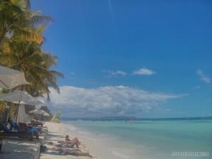 Bohol - hidden beach sunbathing topless