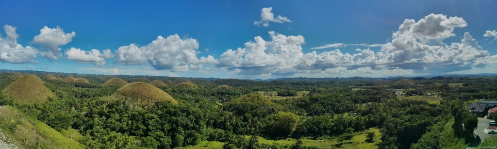 Bohol - panorama chocolate hills 1