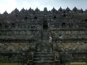 Borobudur - landscape 1