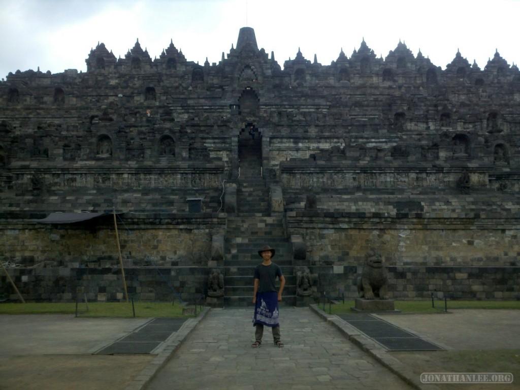 Borobudur - landscape portrait 2