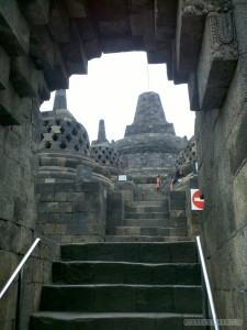 Boro budur - stairs 2