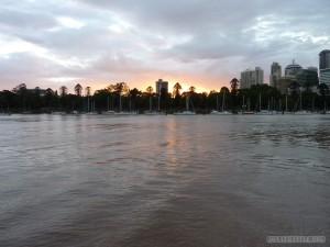 Brisbane - Brisbane sunset