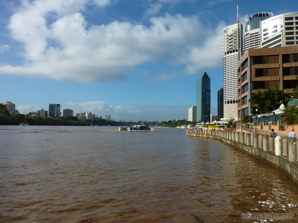 Brisbane - brown river