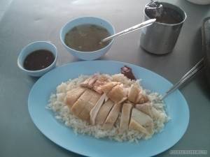 Chiang Mai - Hainanese chicken and rice