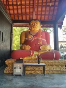 Chiang Mai - Wat Chedi Luang fat buddha