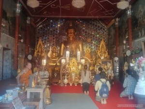 Chiang Mai - Wat Doi Suthep buddha 1