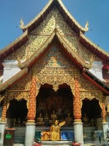 Chiang Mai - Wat Doi Suthep temple 1