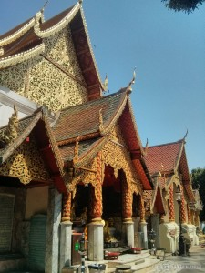 Chiang Mai - Wat Doi Suthep temple 2