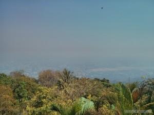 Chiang Mai - Wat Doi Suthep view from top