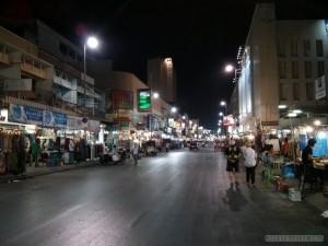Chiang Mai - night bazaar street
