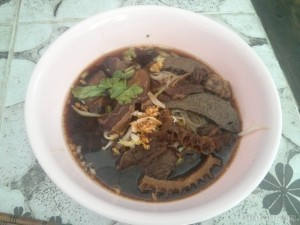 Chiang Mai - noodle with animal parts