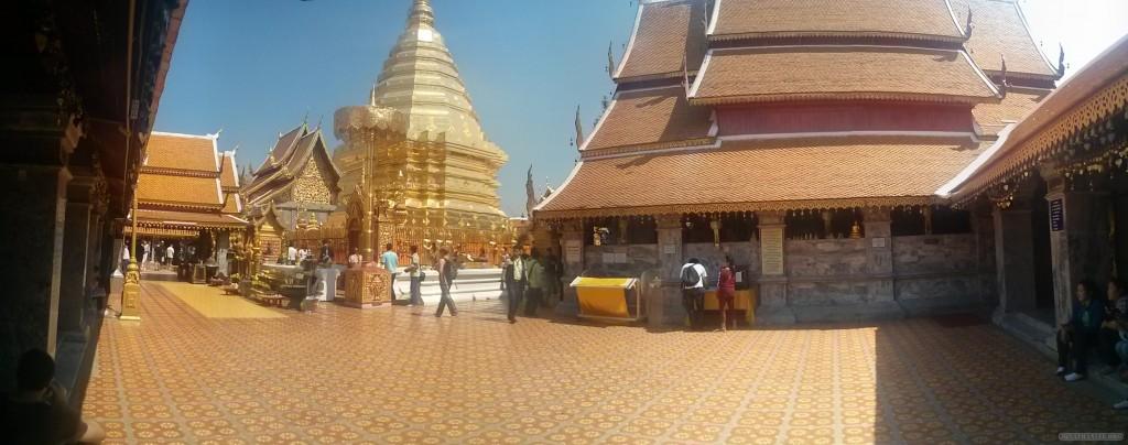 Chiang Mai - panorama Wat Doi Suthep