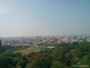 Chiayi - Sun Shooting Tower scenery 2