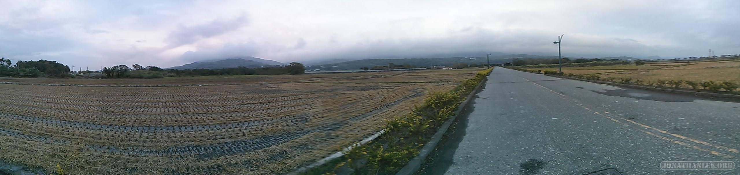 Chishang - panorama view