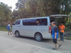 El Nido - broken down bus
