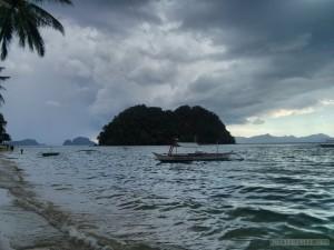 El Nido - las cabanas storm coming 1
