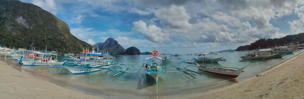 El Nido - panorama beach
