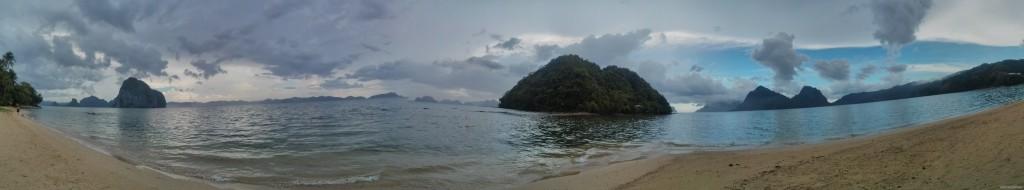 El Nido - panorama las cabanas 2