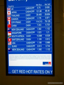Exchange rate - horrible rates