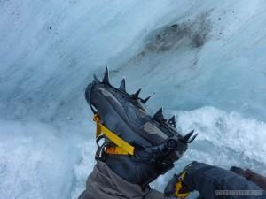 Fox Glacier - crampons