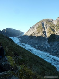 Fox Glacier - ice path