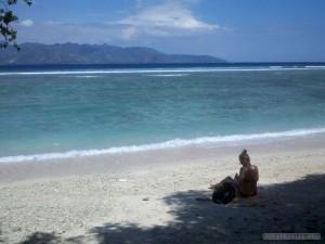 Gili Trawangan - beach 1