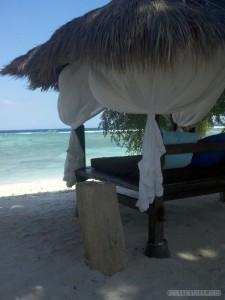 Gili Trawangan - beach lounge