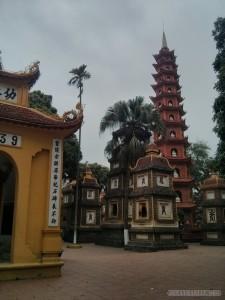 Hanoi - Tran Quoc Pagoda 2