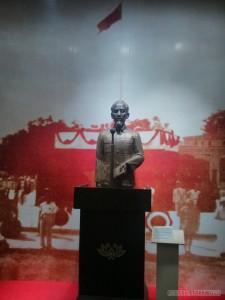 Hanoi - history museum Ho Chi Minh