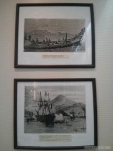 Hanoi - history museum Vietnam vs France
