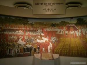 Hanoi - history museum revolutionary history