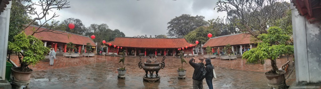 Hanoi - panorama Temple of Literature 3